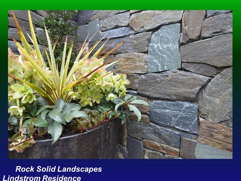 Rock Solid Landscapes Lindstrom Residence