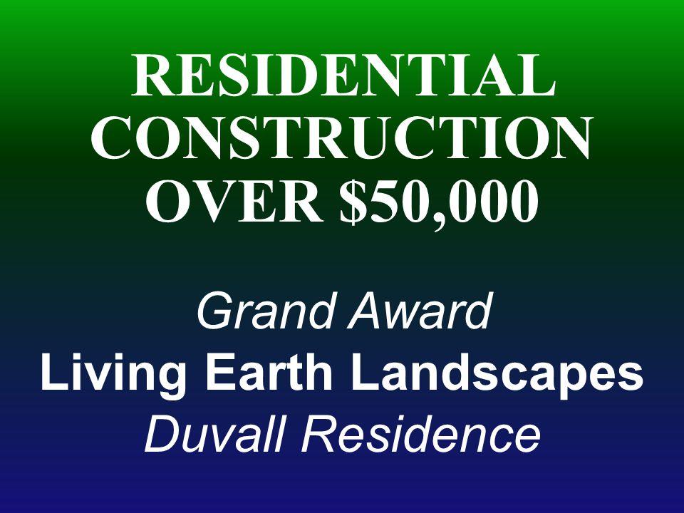 Living Earth Landscapes Duvall Residence