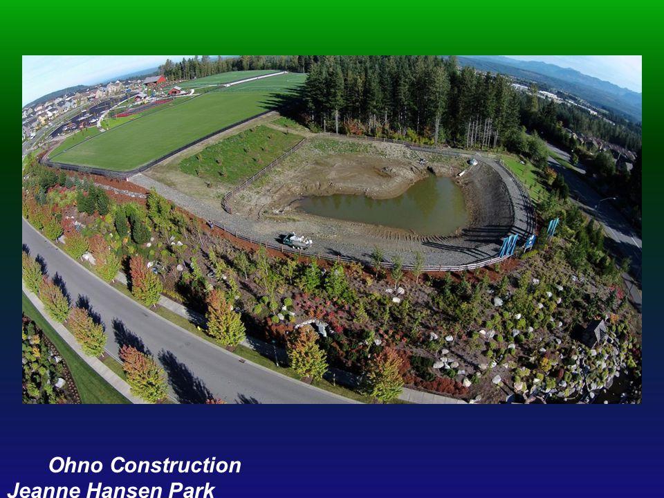 Ohno Construction Jeanne Hansen Park