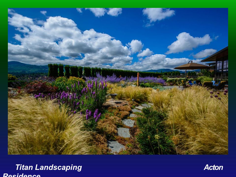 RESIDENTIAL CONSTRUCTION $10,000 - $25,000 Award of Distinction Signature Landscape Services Jacobson Residence