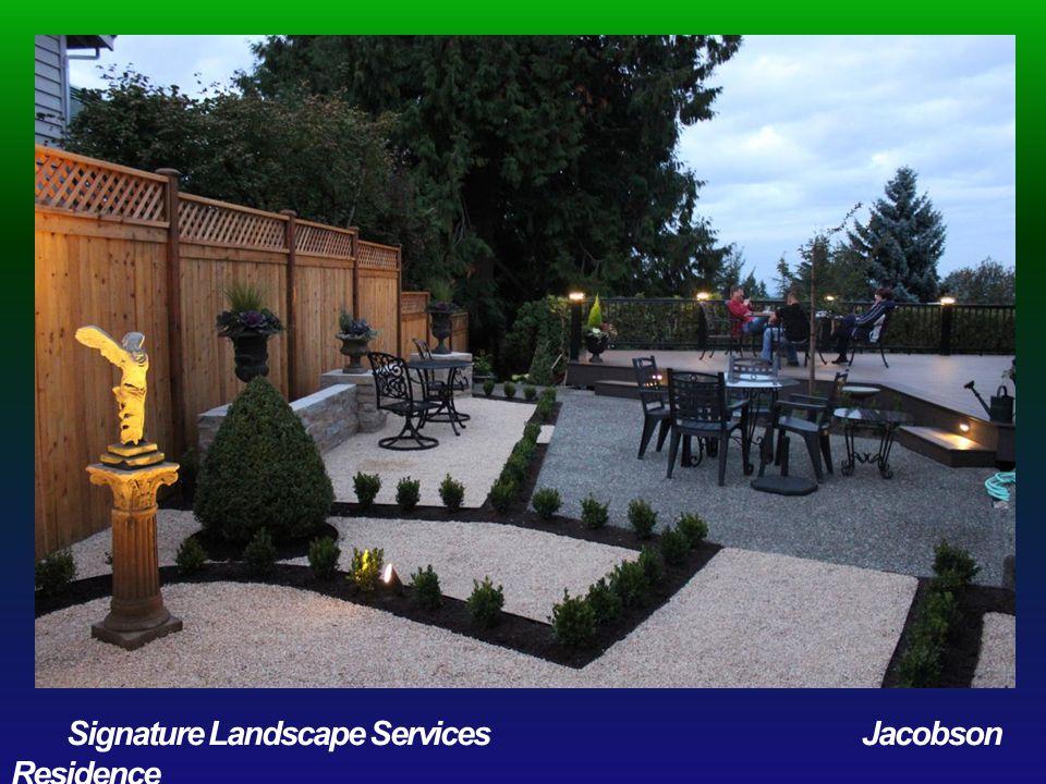 COMMERCIAL MAINTENANCE OVER $15,000 Award of Distinction Greenleaf Landscaping Touchmark