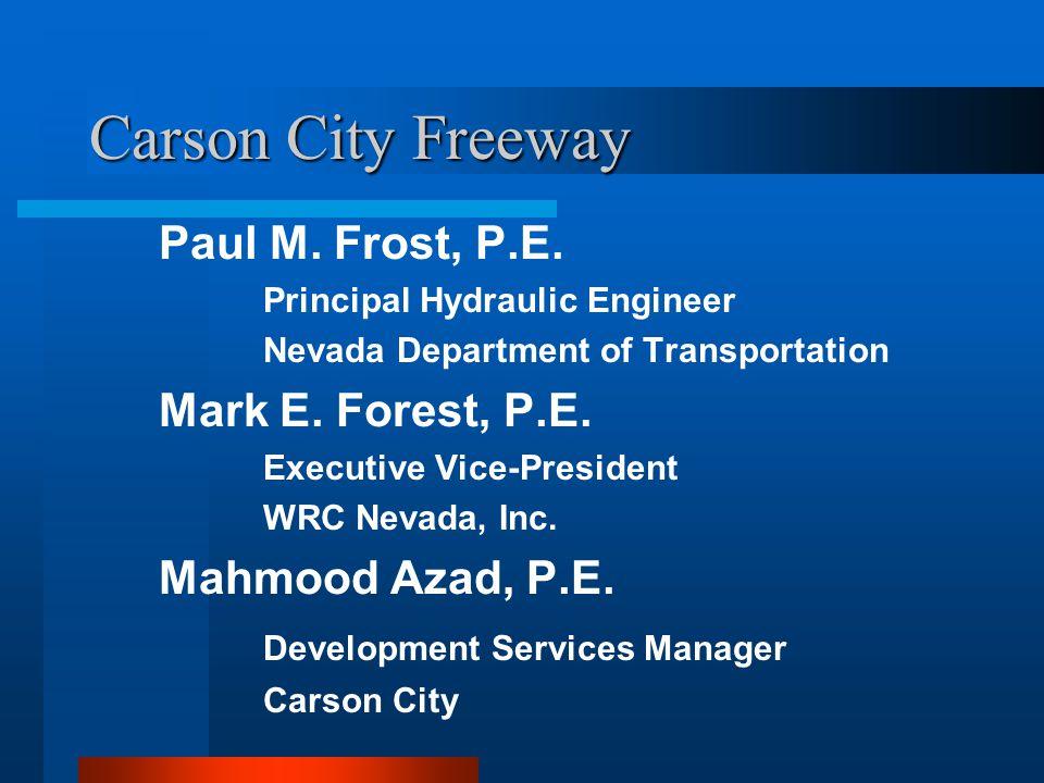 Carson Freeway Phase I - Red Phase II - Blue