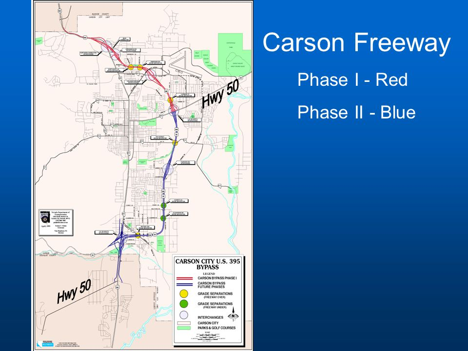 Phase I - Carson Freeway