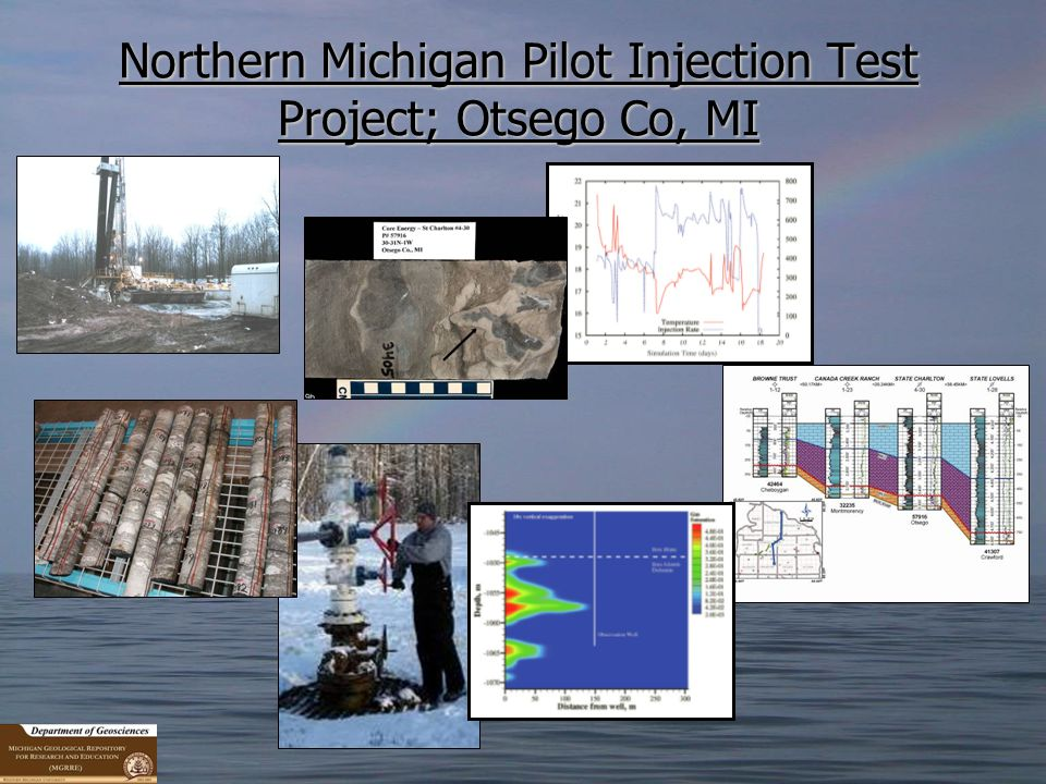 Northern Michigan Pilot Injection Test Project; Otsego Co, MI