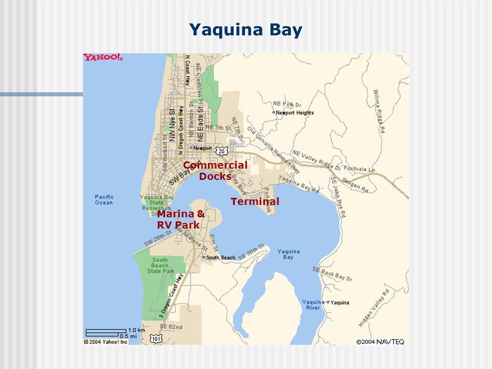 Yaquina Bay Terminal Commercial Docks Marina & RV Park