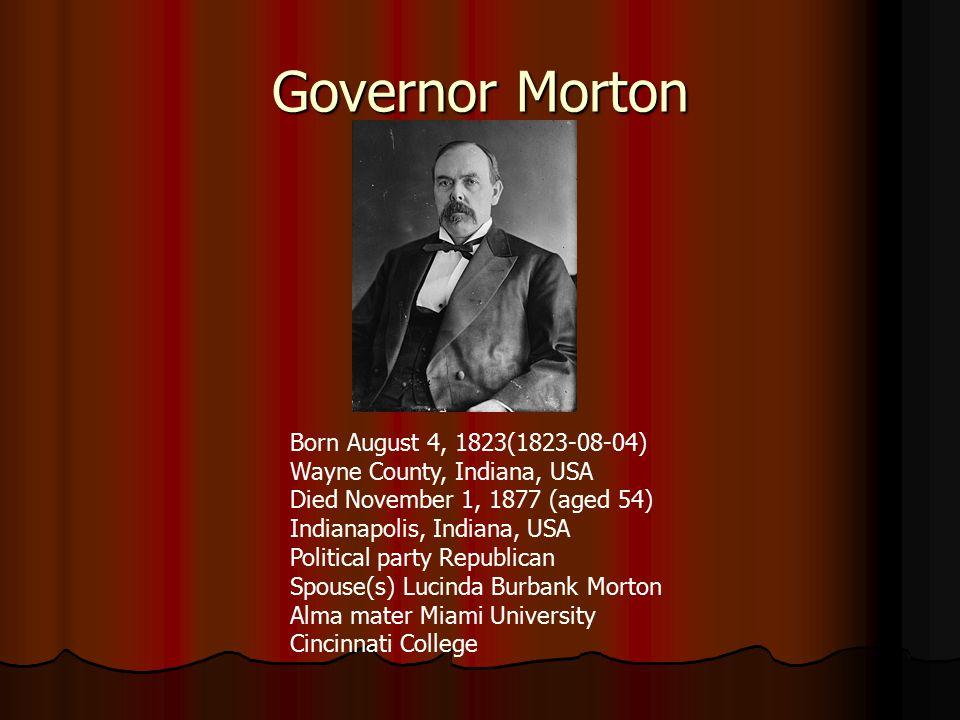 Governor Oliver P.