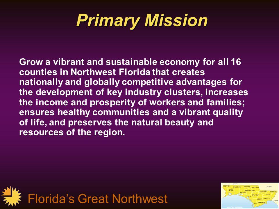 Florida's Great Northwest Program Of Work