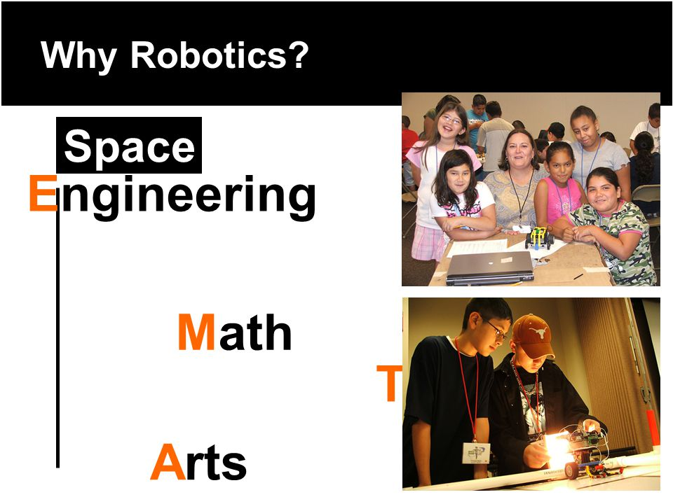 Why Robotics Technology Science Math Arts Engineering Space