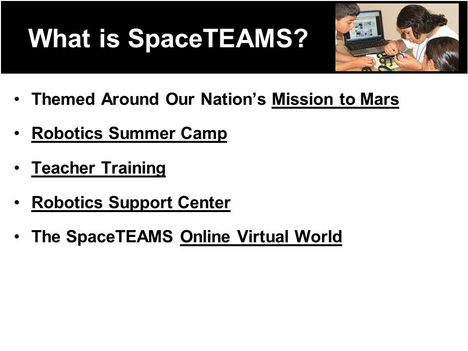What is SpaceTEAMS.