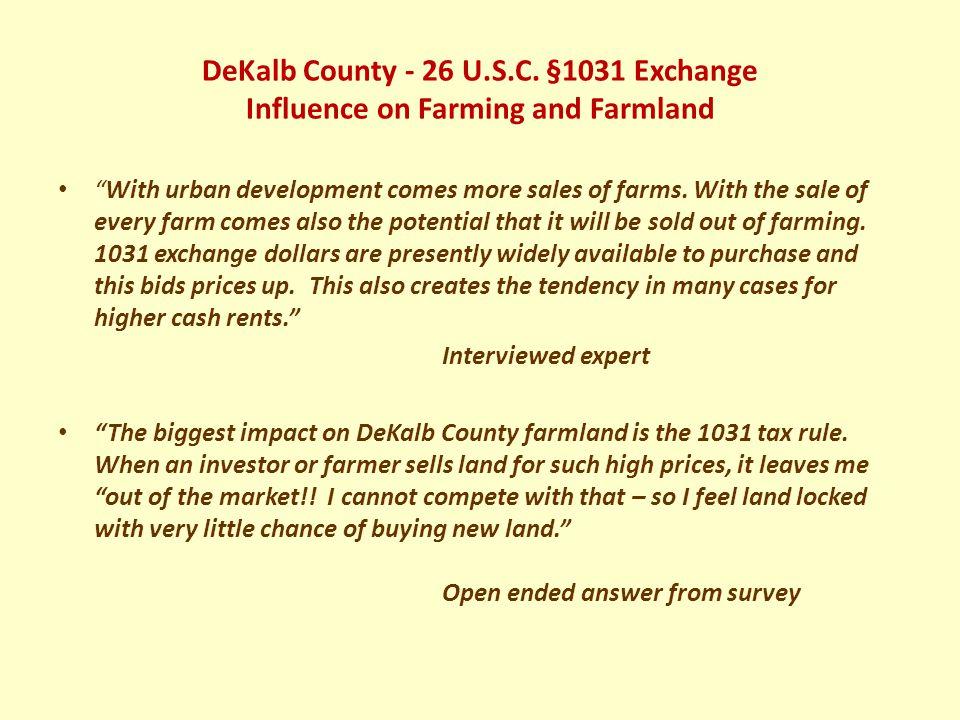 DeKalb County - 26 U.S.C.