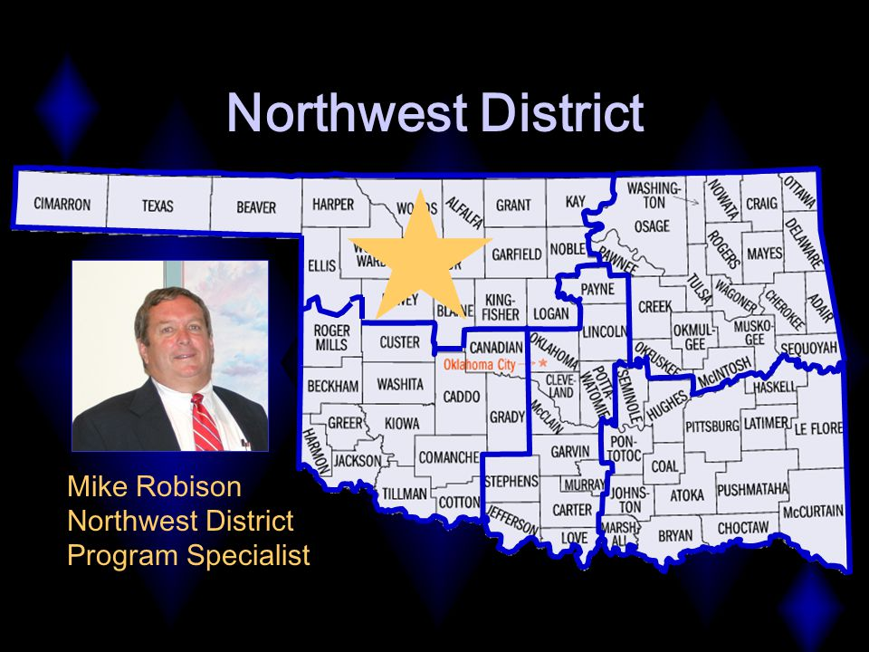 Northwest District Mike Robison Northwest District Program Specialist