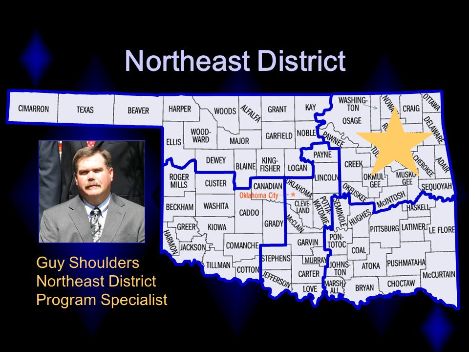 Northeast District Guy Shoulders Northeast District Program Specialist