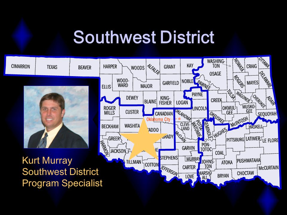 Southwest District Kurt Murray Southwest District Program Specialist