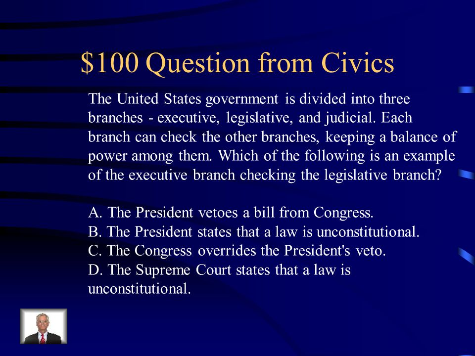 Final Jeopardy The following events are important in the history of the United States.