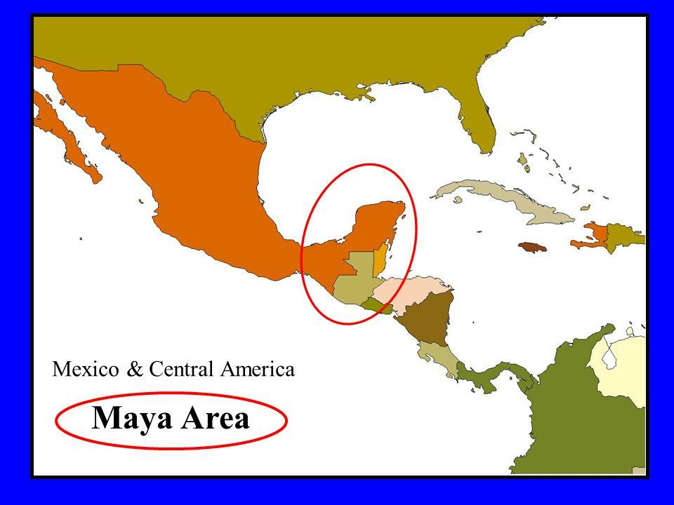Mexico & Central America Maya Area