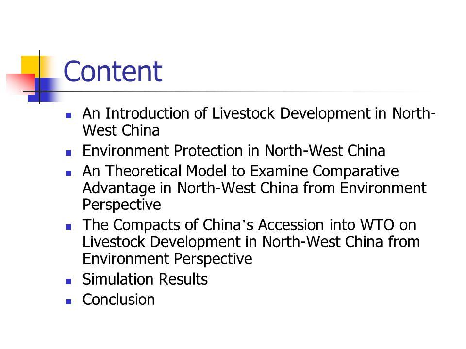 Supply Model Livestock production Q i,t =Q i,t-1 (1+(% △ P i,t E p I,t +% △ P i,t-1 E p I,t-1 +% △ P i,t-2 E p I,t- 2 +% △ P i,t-3 E p I,t-3 +% △ P feed i,t E feed i )) Where, Q i,t is the production in year t of product i ; △ P is the change rate of price; E p is the price elasticity; E feed is the elasticity of feed price.