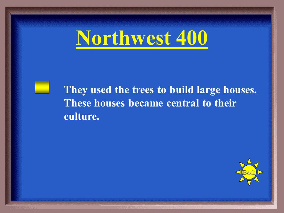 How did the Northwest's forests influence the Indians living there