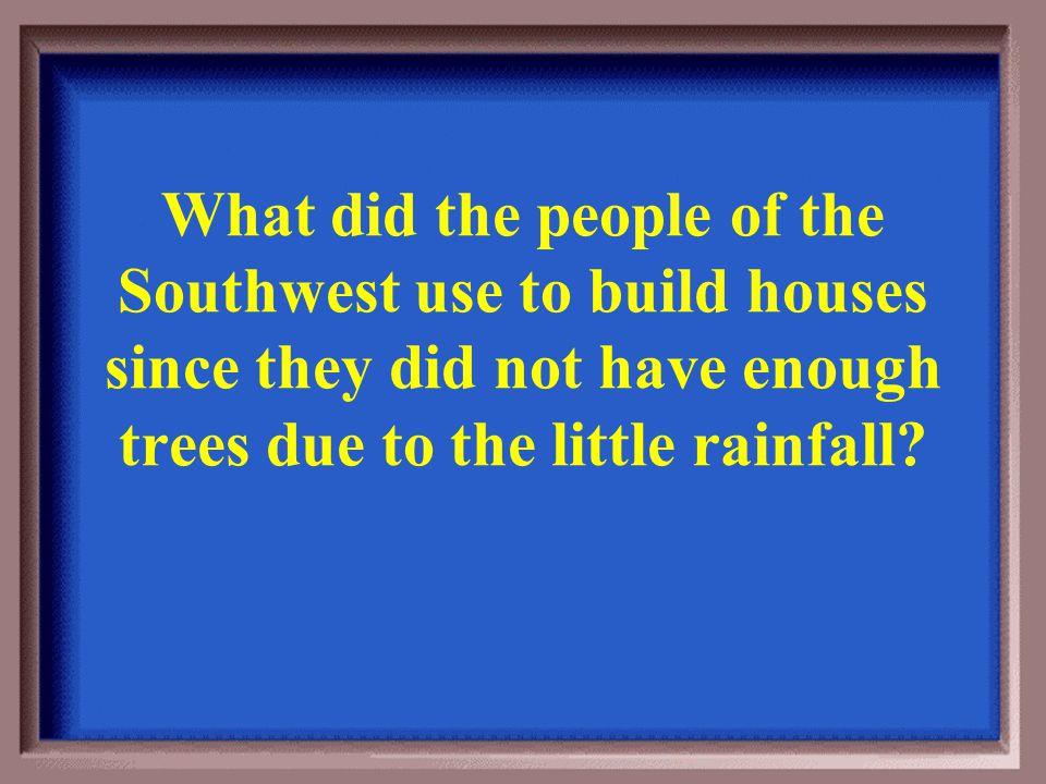 Southwest 400 They used irrigation. Back