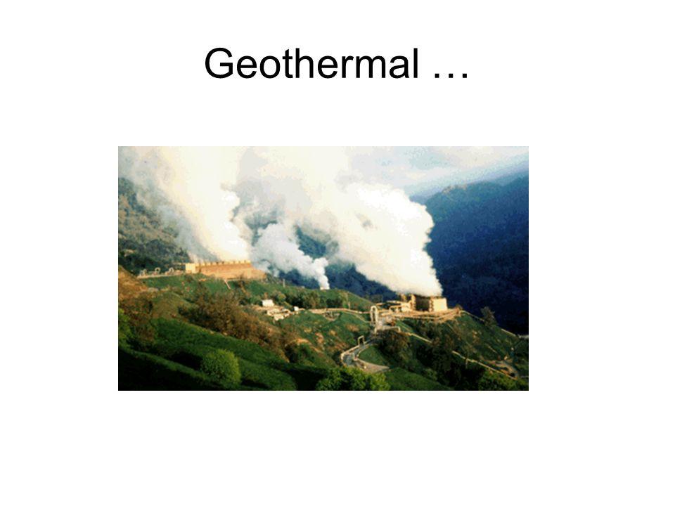 Geothermal …