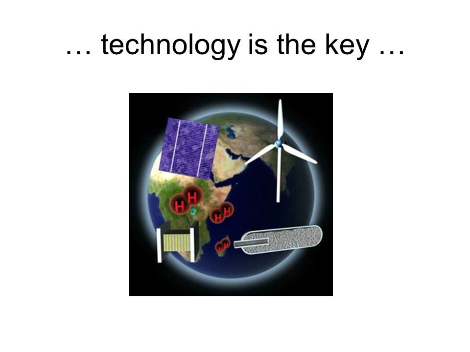… technology is the key …