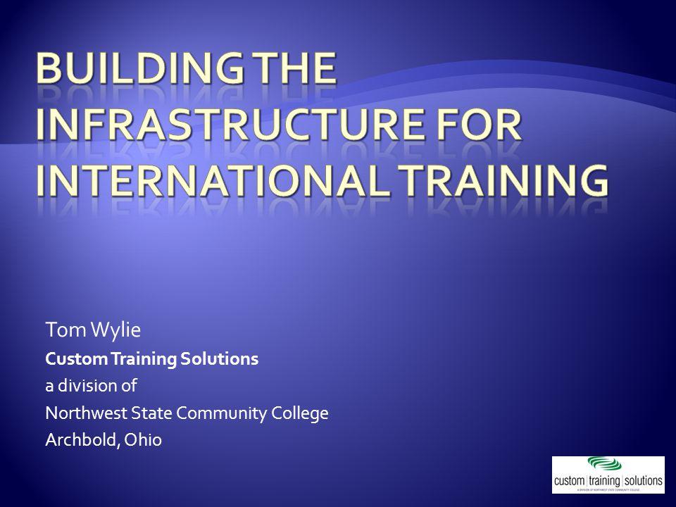  Tom Wylie – VP of Workforce Development 419.530.3309 twylie@northweststate.edutwylie@northweststate.edu