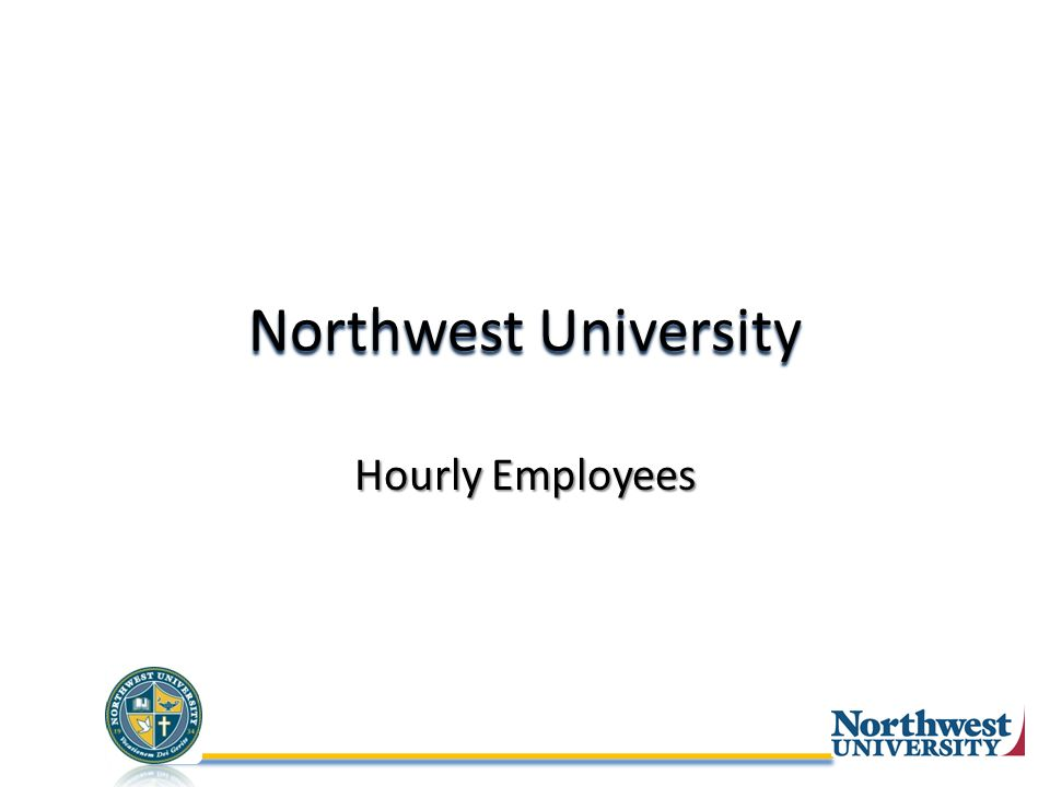 Northwest University Hourly Employees