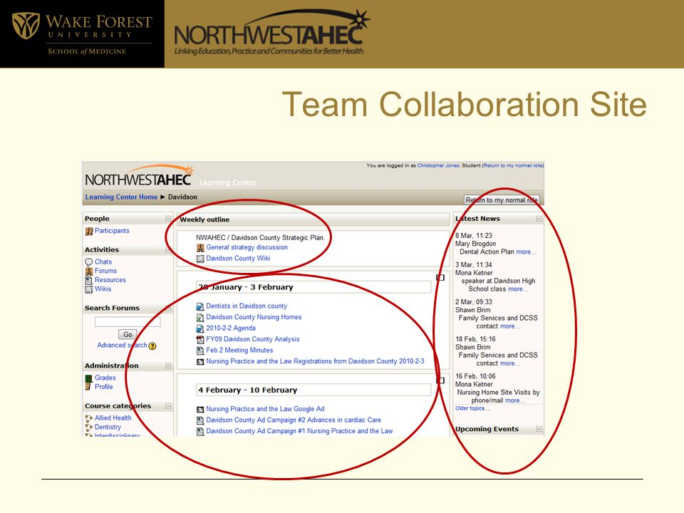 Team Collaboration Site