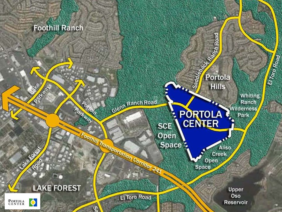 4 PROJECT HISTORY  1986:Approved for 3 million square feet of Commercial and Business Park Uses  2008:Opportunity Study Area Land Use Change to Residential, Mixed Use, & Public Park –OSA GPA & Program EIR –Portola Center Development Agreement  2008: Initial Submittal of Tentative Tract Maps (TTM) and Area Plan  May 2012: Application Deemed Complete  July 2012: EIR Scoping Meeting and Planning Commission Site Visit & Workshop