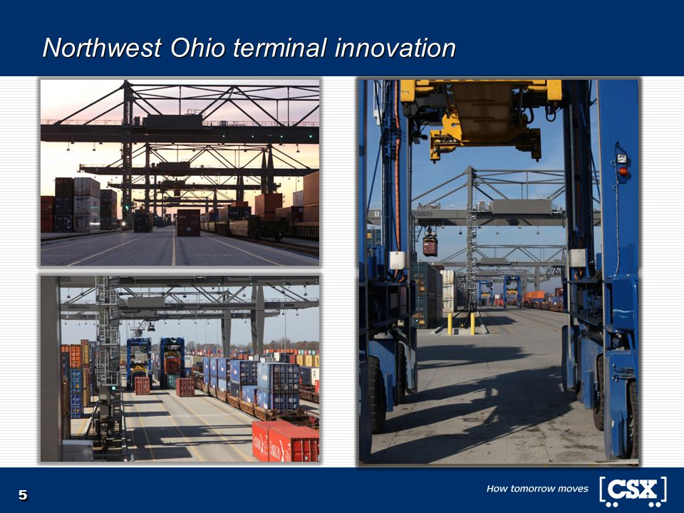 5 Northwest Ohio terminal innovation