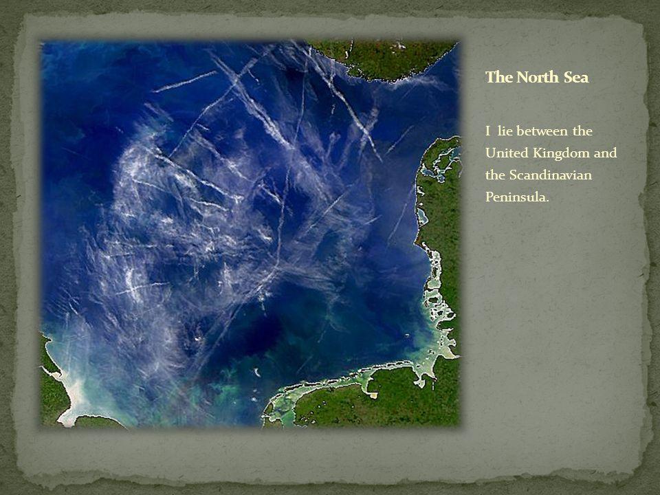 I lie between the United Kingdom and the Scandinavian Peninsula.