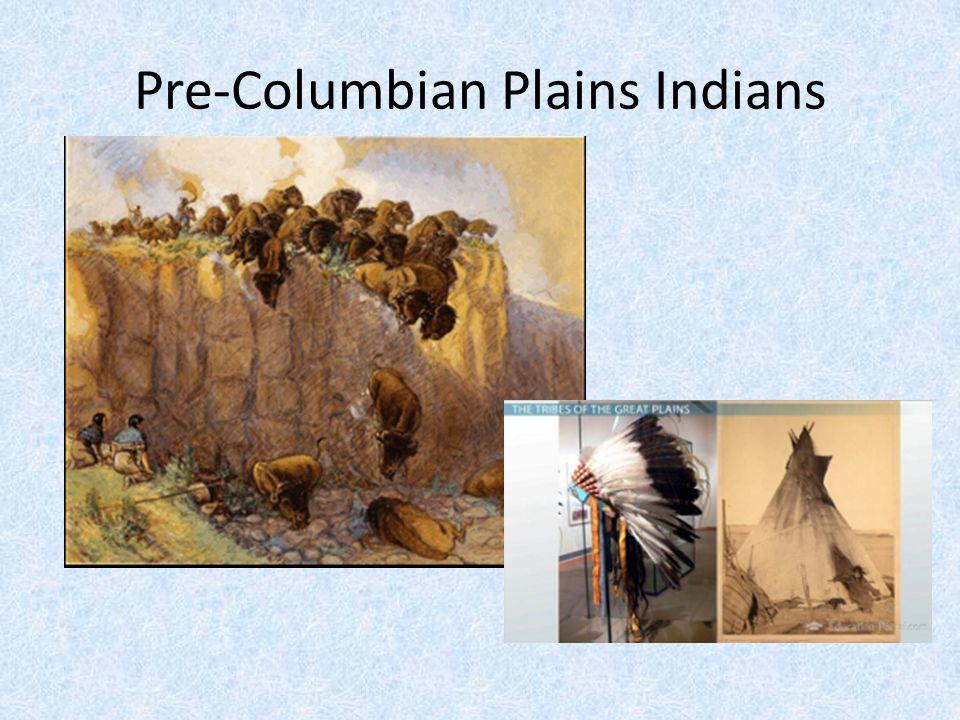Pre-Columbian Plains Indians