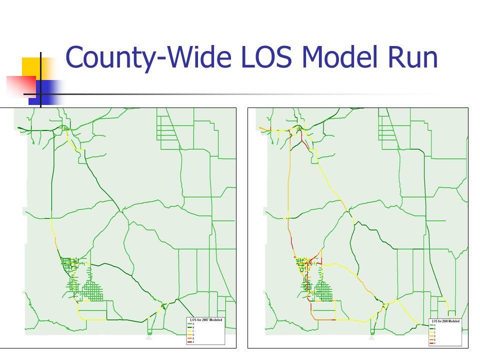 County-Wide LOS Model Run