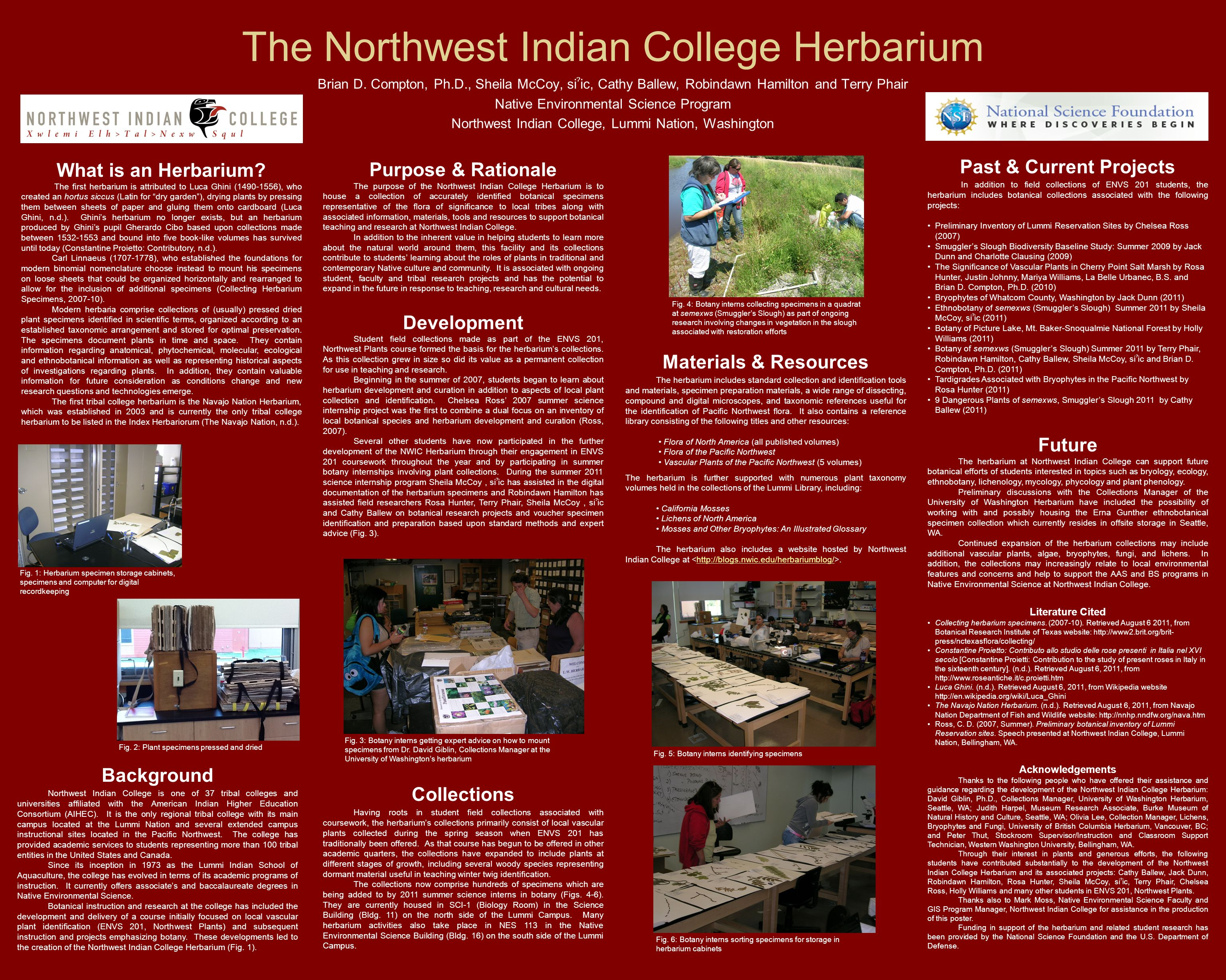 The Northwest Indian College Herbarium Brian D.