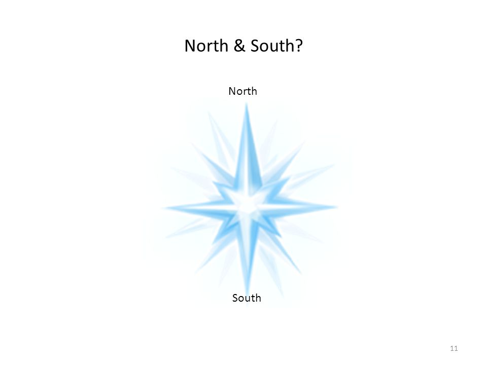 North & South? South North 11