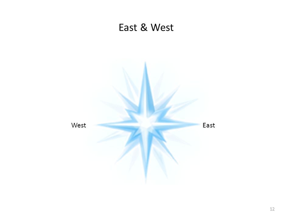 East & West WestEast 12