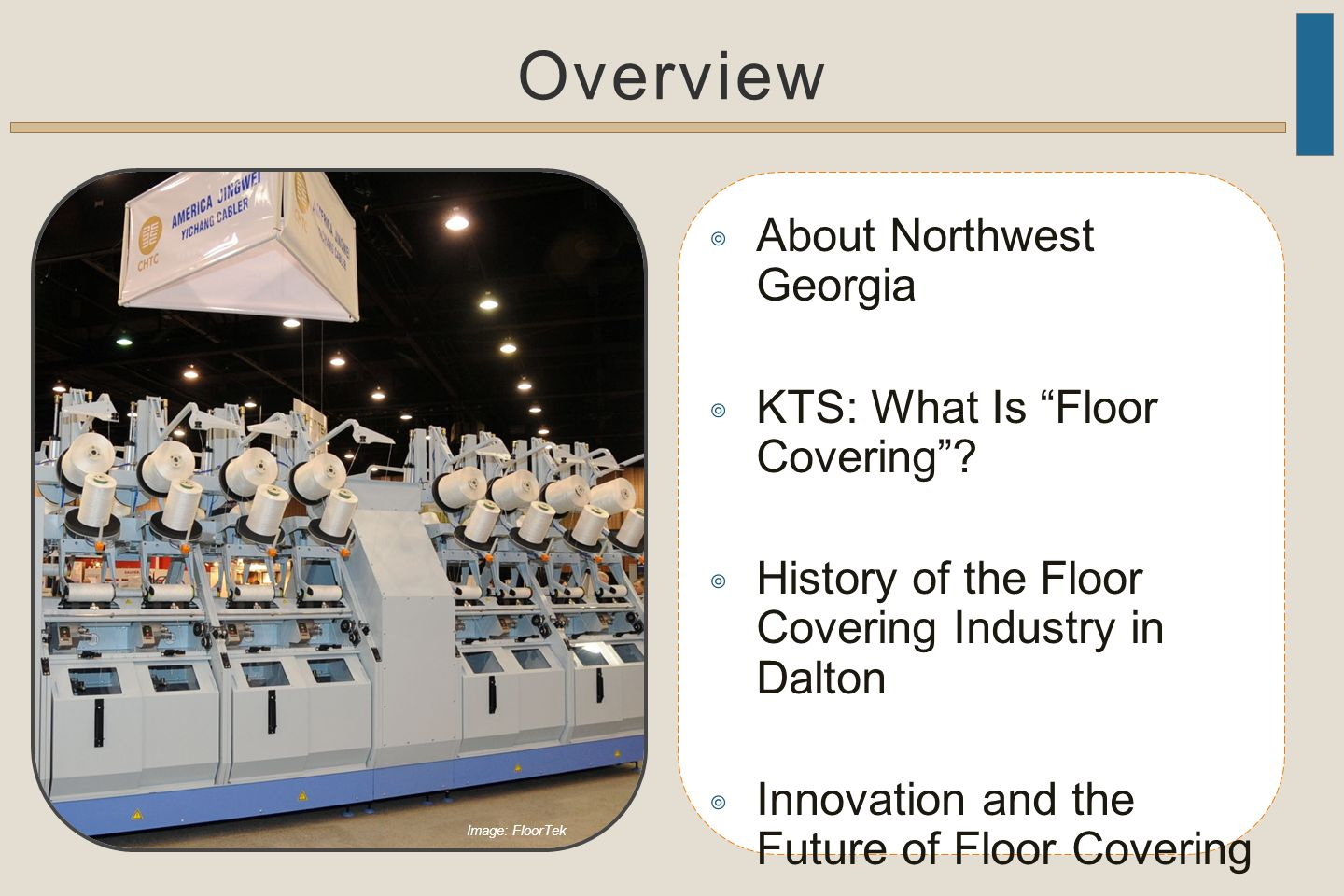 Overview ◎ About Northwest Georgia ◎ KTS: What Is Floor Covering .