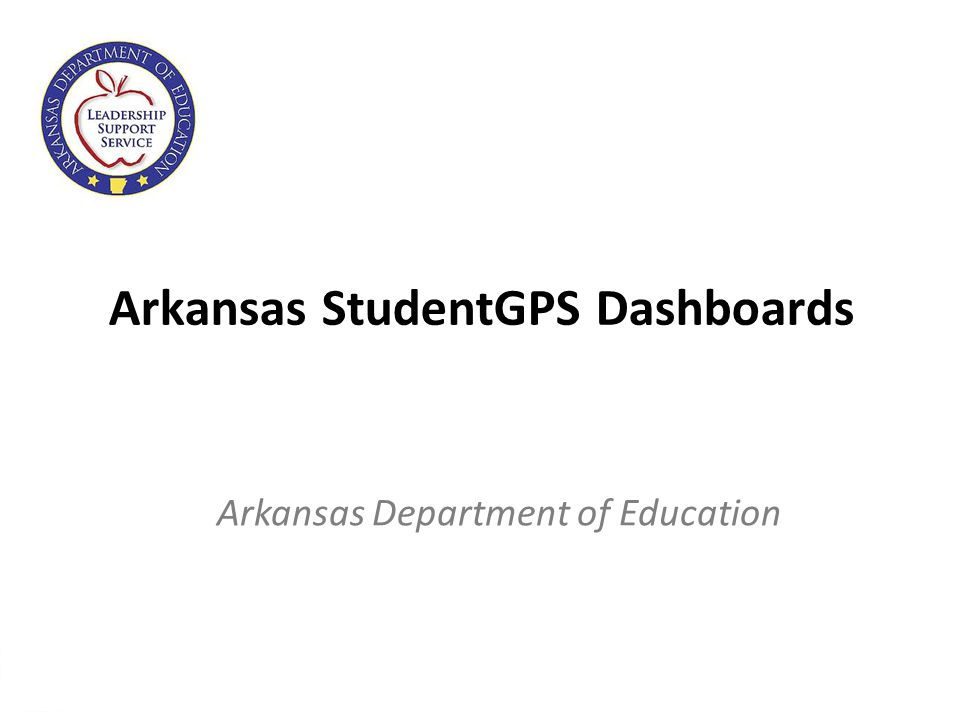 2 About the StudentGPS Dashboards