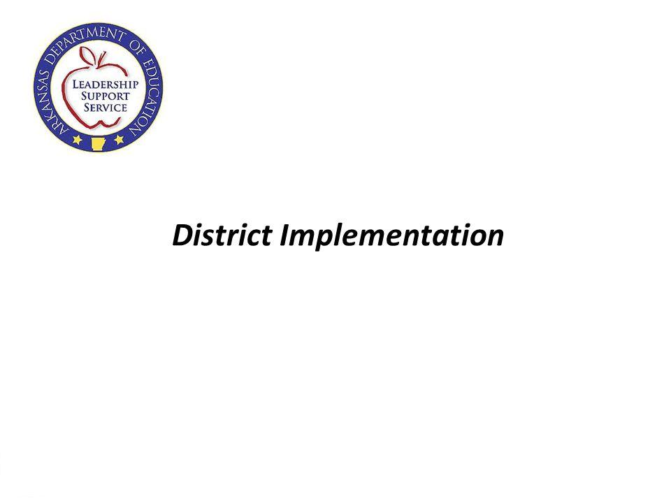 24 District Implementation