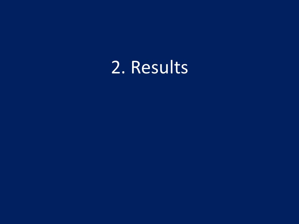 2. Results