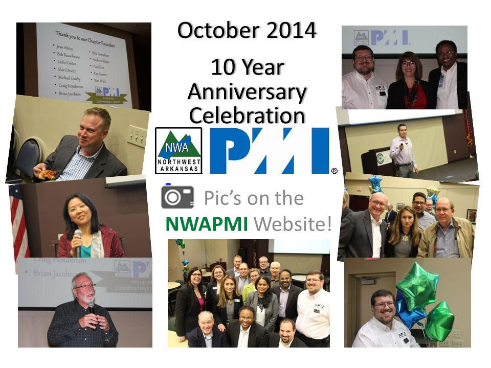 October 2014October 2014 10 Year Anniversary Celebration Pic's on the NWAPMI Website!