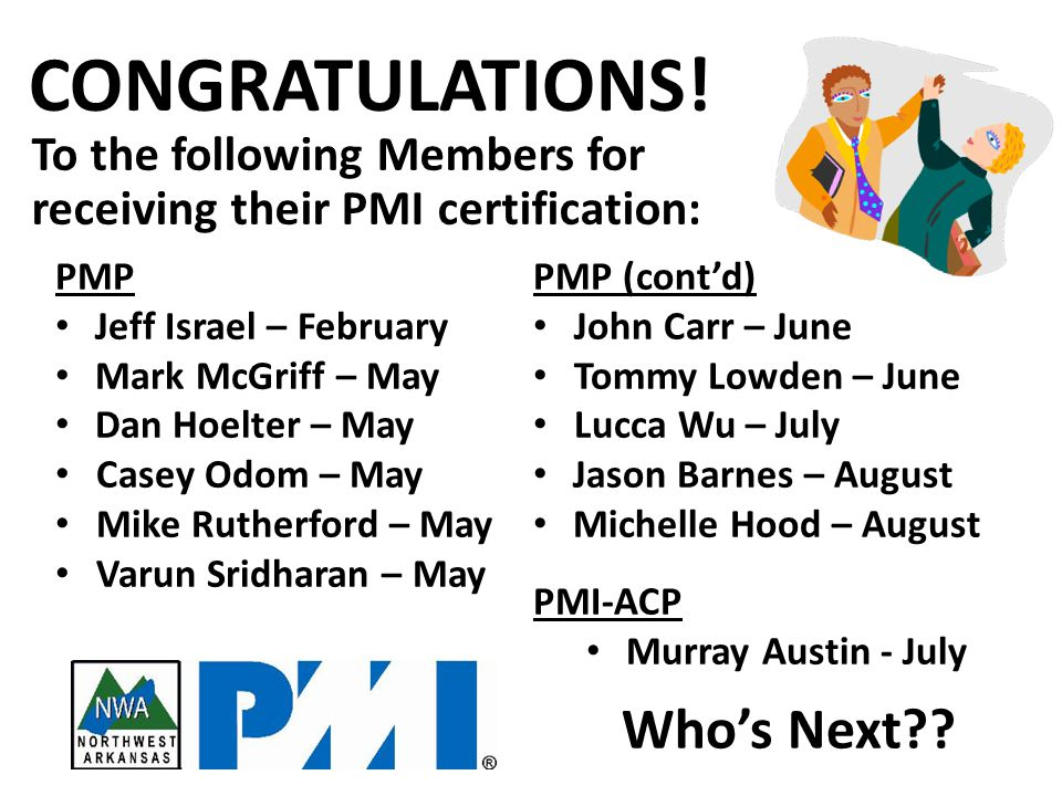 SAVE THE DATE… We all forget sometimes… Keep an eye out for reminders from PMI Watch for Membership Renewals