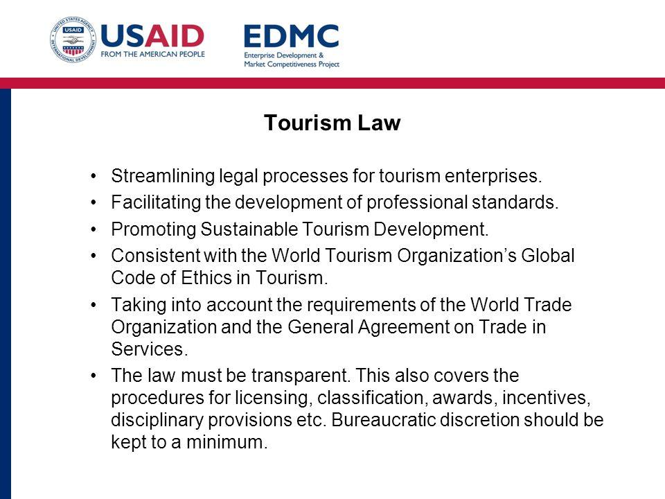 Tourism Law Streamlining legal processes for tourism enterprises.