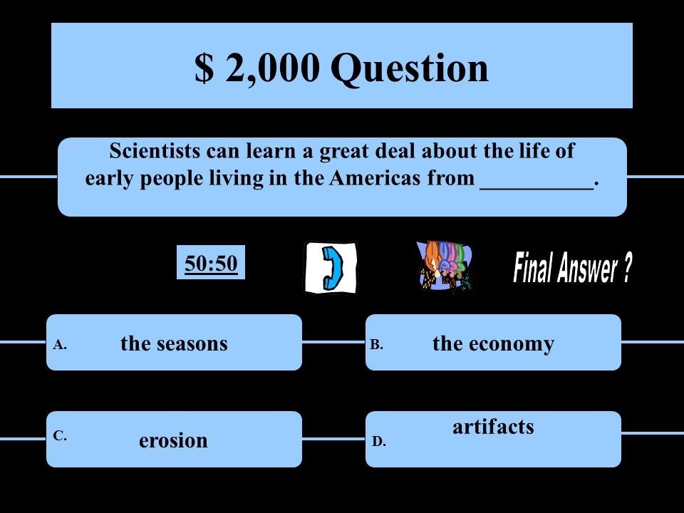 $ 1,000 Question What large mountain range is located in the western part of the United States.