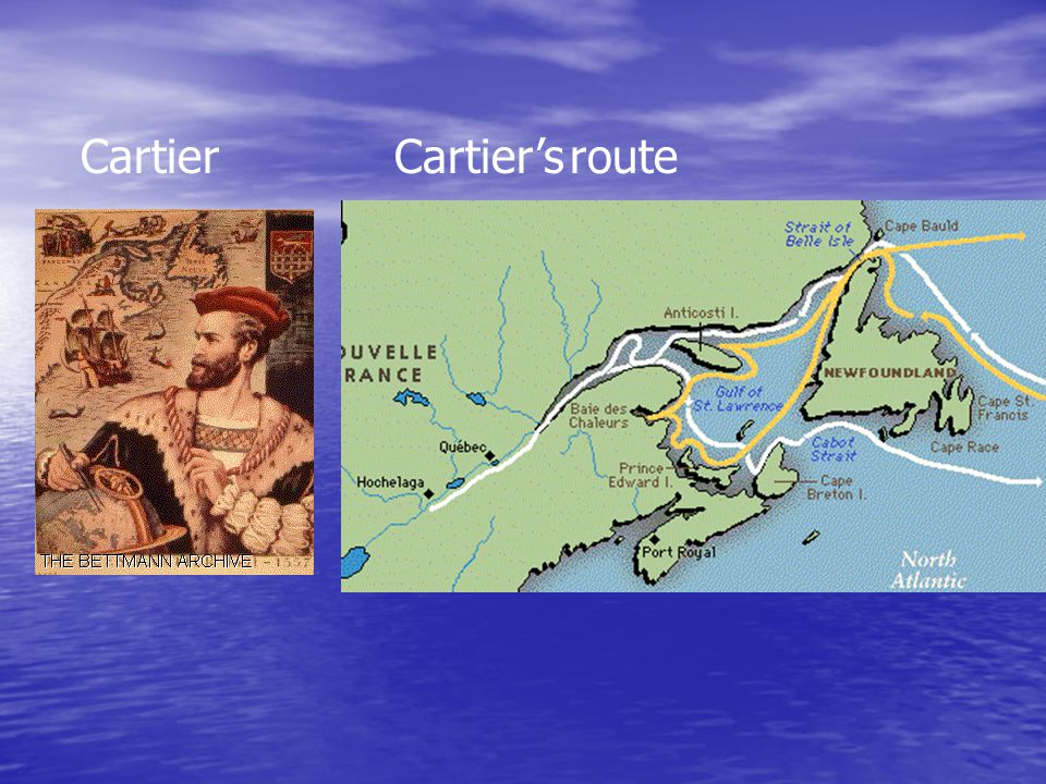CartierCartier's route