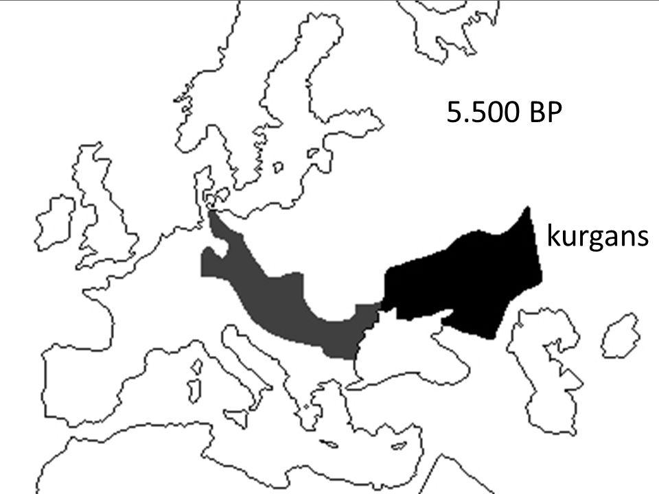 kurgans 5.500 BP
