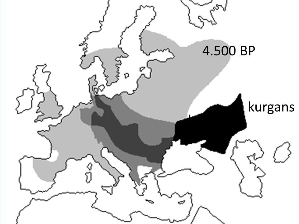 kurgans 4.500 BP