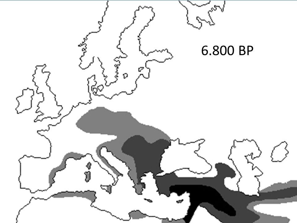 FARMERS (FBC 4.100-2.600 BCE) HUNTER-GATHERERS (PWC 3.200-2.000 BCE) (Malmström et al.