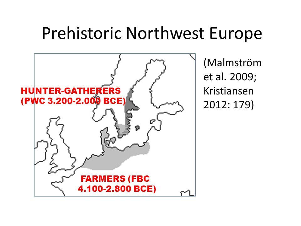 FARMERS (FBC 4.100-2.800 BCE) HUNTER-GATHERERS (PWC 3.200-2.000 BCE) (Malmström et al.