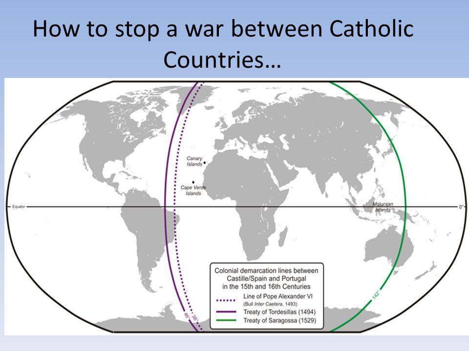 How to stop a war between Catholic Countries…