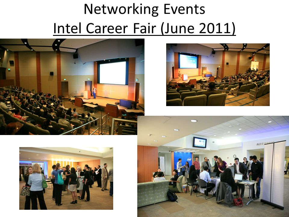 Networking Events Intel Career Fair (June 2011)